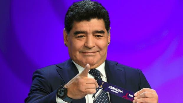 Maradona, crítico