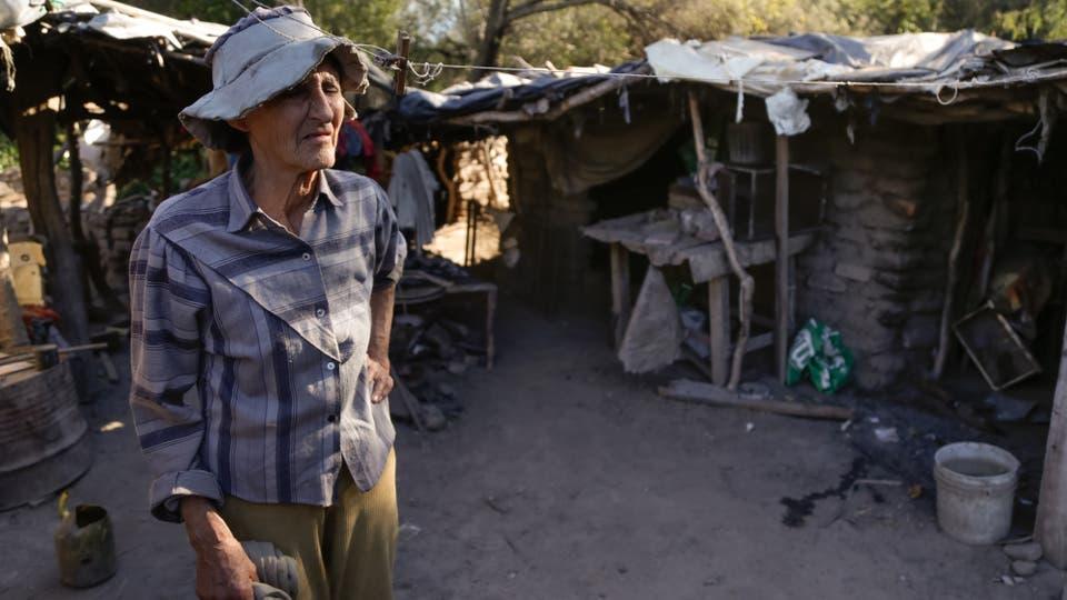 Guanaco Muerto queda a 40 kilómetros de Cruz del Eje, llegar allí cuesta $120 en colectivo. Foto: LA NACION / Diego Lima