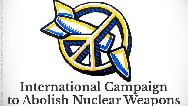 El Nobel de la Paz 2017 fue para la Campaña Internacional por la Abolición de las Armas Nucleares