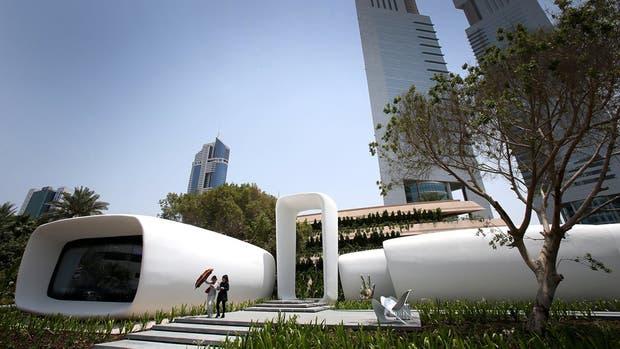 Moderno y sustentable El edificio se levantó en 17 días