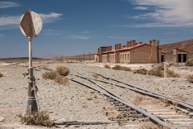 La estación de Laguna Seca. Foto: Sebastián Pani