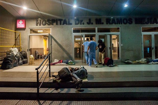 Los trabajadores del hospital Ramos Mejía, víctimas de episodios violentos