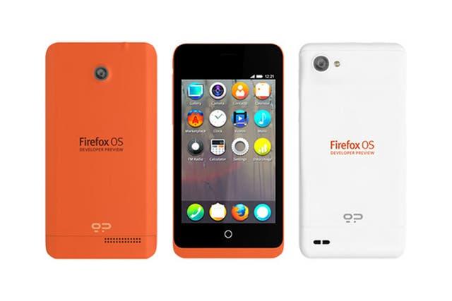 Los teléfonos con Firefox OS presentados por la start-up española Geeksphone estarán disponibles sólo para desarrolladores