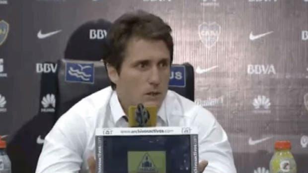 Guillermo Barros Schelotto habló en conferencia de prensa tras la derrota frente a River