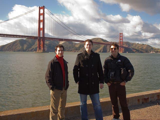 Diego Yanivello, Mauro Vazquez y Gonzalo Oxenford, el equipo de odaSoft