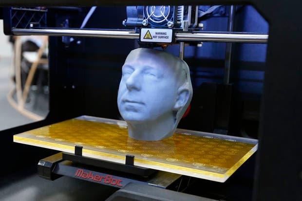 Una figura creada con la Maker Bot, una de las marcas destacadas en el segmento de las impresoras 3D