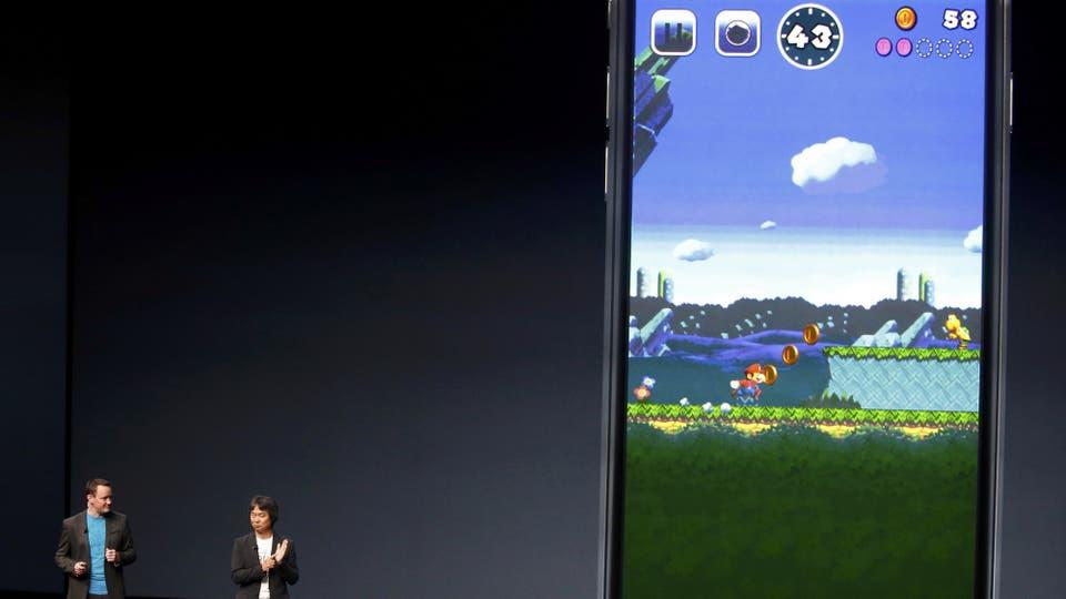 Así se ve el juego Super Mario Run para dispositivos iOS de Apple. Foto: Reuters