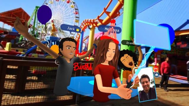 Realidad virtual, una tecnología que Facebook busca promover entre sus desarrolladores