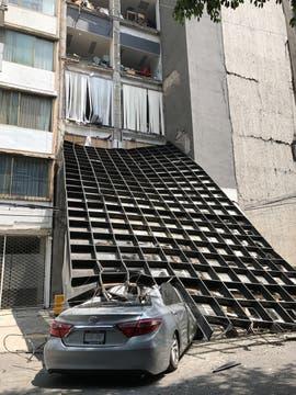 Un terremoto sacudió a la Ciudad de México. Foto: Reuters / Claudia Daut