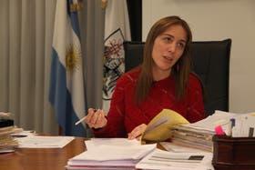 María Eugenia Vidal insistió con que la ciudad no es parte del conflicto salarial en el subte