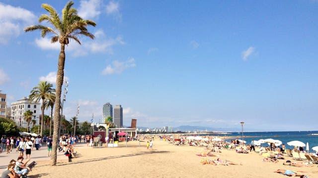 Playa de Altafulle.