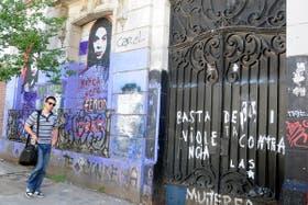 La fachada de la casa donde Barreda asesinó a su familia