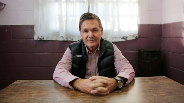 Fernando Farré en la cárcel de San Martín