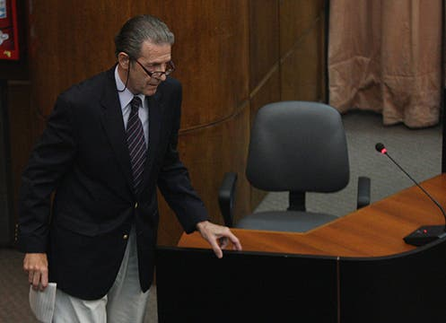 Diego Lentito, Comodoro retirado estaba a cargo del área de habilitaciones aéreas en el momento del accidente. Foto: LA NACION / Maxie Amena
