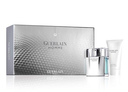 Guerlain Homme: EDT de 80 ml, más shower gel (cuerpo y cabello) de 75 ml; $ 362. Foto: lanacion.com