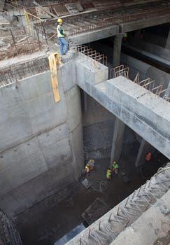 Una recorrida por las obras por donde pasará al arroyo Maldonado. Foto: Eduardo Carrera / AFV