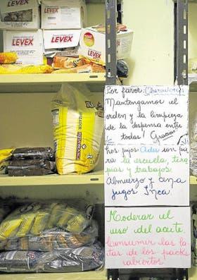 En el Hogar María del Rosario de San Nicolás - como en el resto de las instituciones - se hace un uso eficiente de los alimentos para poder hacerlos rendir al máximo