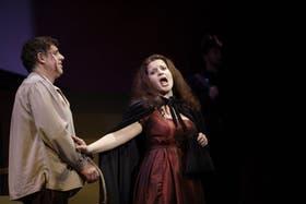 Darío Sayegh y Sabrina Citera son Cavaradossi y Tosca