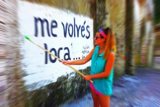 Acción Poética San Isidro. Foto: Facebook
