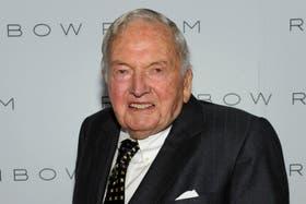 David Rockefeller cumplió 100 años y acumula una fortuna de 3554 millones de dólares