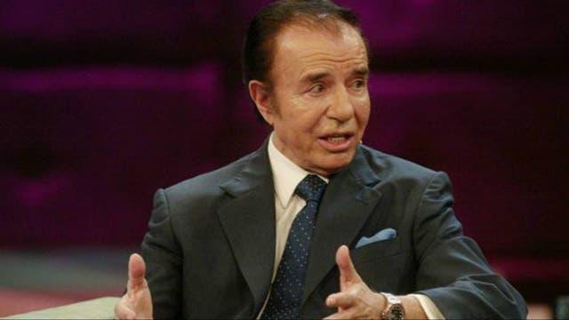 El riojano Carlos Menem impulsó en Argentina el neoliberalismo económico de los 90