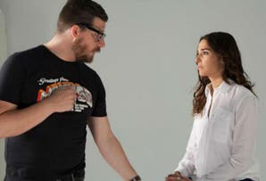 En la Argentina, los famosos también se suman a la campaña contra la violencia de género