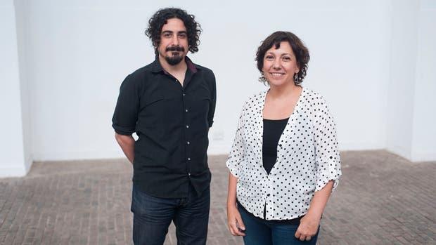 Julián Peralta y Paulina Fain, participantes del encuentro tanguero