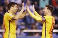 """Deportivo La Coruña-Barcelona: Suárez y Messi dejaron atrás """"la crisis"""" con un contundente 8-0"""