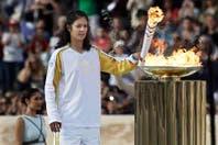 La antorcha olímpica se despidió de Atenas, en el comienzo de la cuenta regresiva