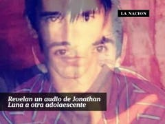 Revelan un audio de Jonathan Luna a otra adolescente