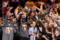 Con un LeBron James supremo, Cleveland es campeón de la NBA