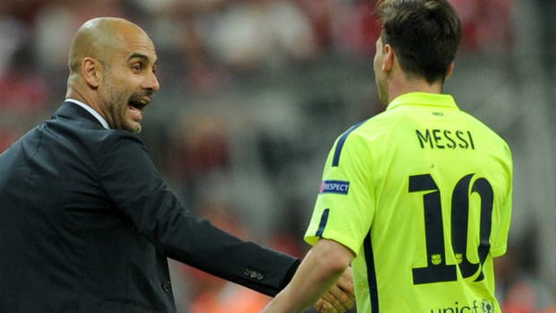 Con tres goles de Lionel Messi, Barcelona le ganó al Manchester City