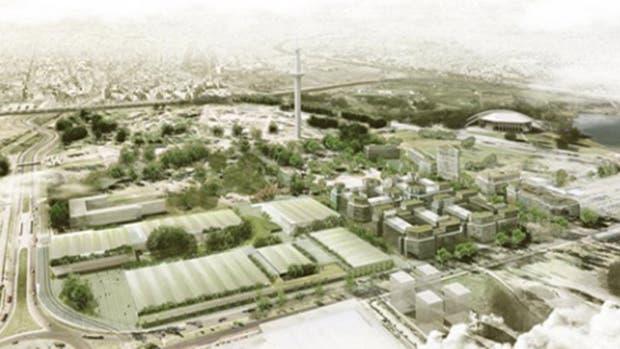 Modelo del Distrito del Deporte, cuyo lanzamiento oficial es hoy en el Parque de la Ciudad