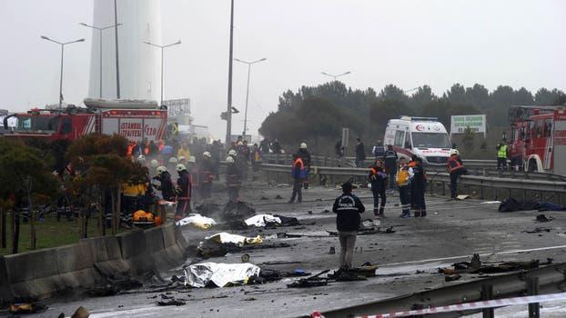 Al menos cinco muertos al estrellarse un helicóptero en Turquía