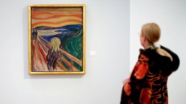 El famoso cuadro de Edvard Munch
