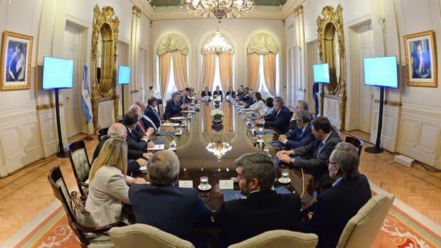 Macri se reunió con gobernadores