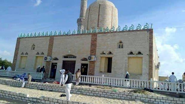 Resultado de imagen para egipto atentado hoy mezquita