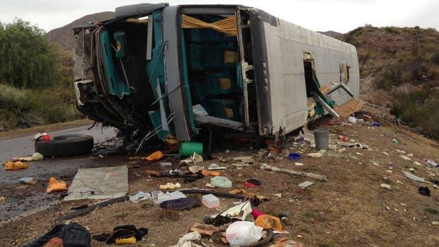 Imágenes del accidente en Mendoza