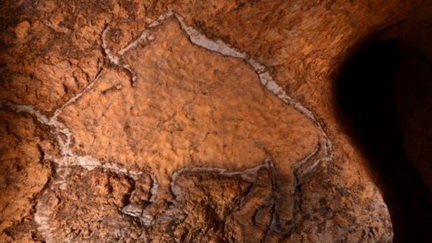 Se trata de un conjunto de grabados en arcilla de 14.000 años de antigüedad