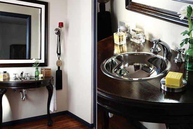 Bachas Para Baño Con Griferia: que evoca la estética de las canillas de antaño / Archivo LIVING