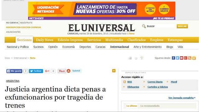 El Universal, de Venezuela
