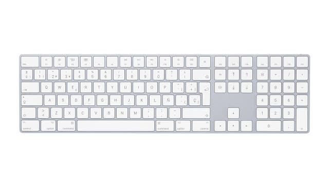 Un Magic Keyboard con pad numérico