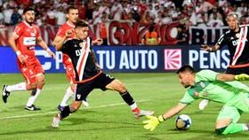 River Plate le gano a Deportivo Morón por 3 a 0 en la segunda semifinal de la Copa Argentina de fútbol