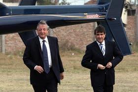 Néstor Kirchner y Héctor Icazuriaga en 2009
