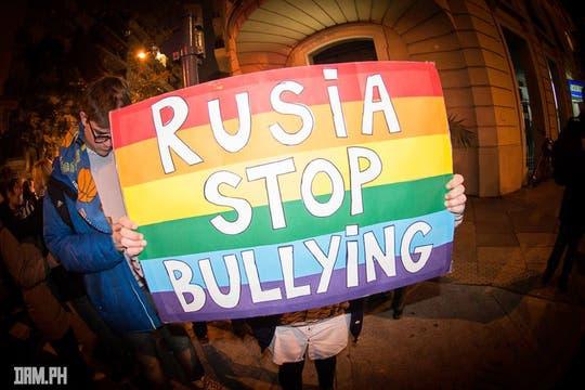 Las persecuciones a los chicos gays en los colegios  rusos es una de las denuncias de los activistas. Foto: Facebook/damhidalgo