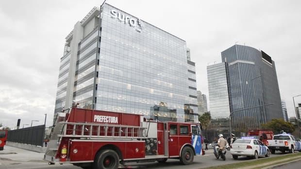 En el edificio donde funciona Indra trabajaba Prefectura luego de la explosión