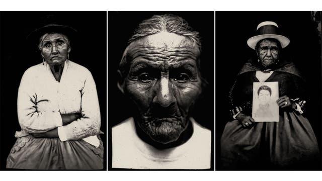 Familiares de desaparecidos en la década del 80, Ayacucho, Perú, 2012