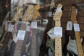 Los instrumentos ya no se venden como antes