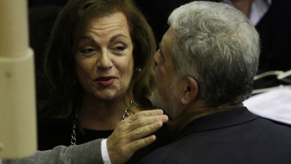 La diputada nacional Nilda Garré y el diputado nacional Julio De Vido. Foto: Hernán Zenteno