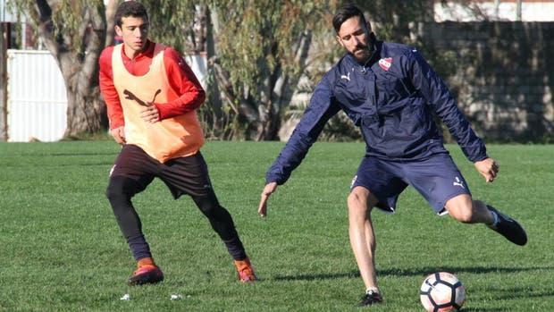Jonás Gutiérrez cumplió su primera práctica en el Rojo